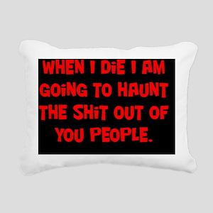 shit_rect Rectangular Canvas Pillow
