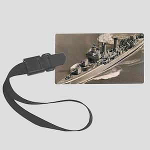 Carmick dms notecard Large Luggage Tag