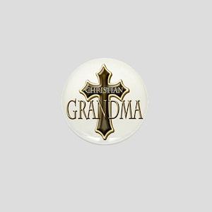 Christian Grandma Mini Button