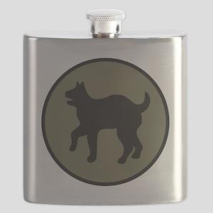 81st Infantry Division Flask