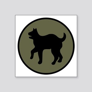 "81st Infantry Division Square Sticker 3"" x 3"""