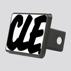 CLE Brushed W Rectangular Hitch Cover