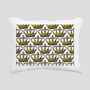 MGPearlCrownPatMp Rectangular Canvas Pillow