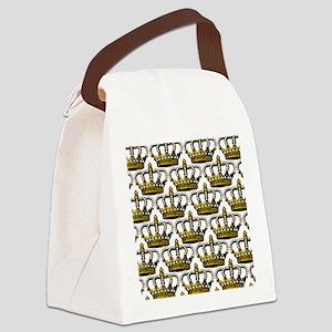 MGPearlCrownPatMp Canvas Lunch Bag