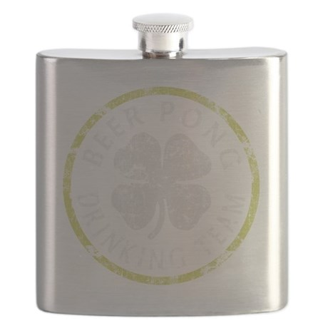 Beer Pong Drinking Team Flask