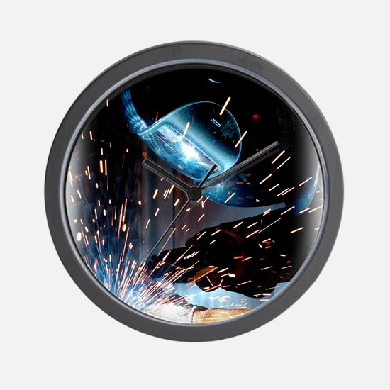 Welders Do It Hotter 50 inches wide x 6 Wall Clock