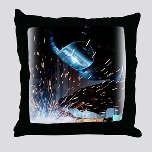 Welders Do It Hotter 50 inches wide x Throw Pillow