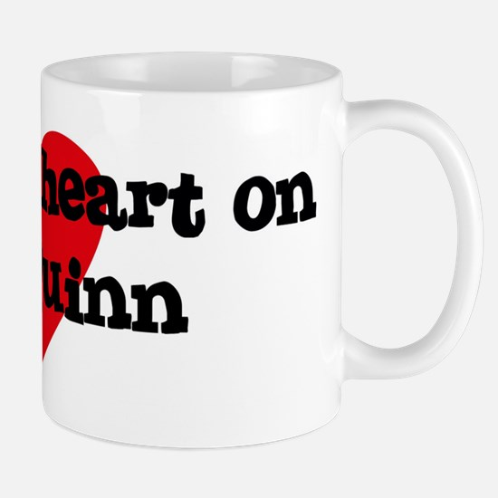 Heart on for Quinn Mug