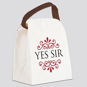 yessir Canvas Lunch Bag