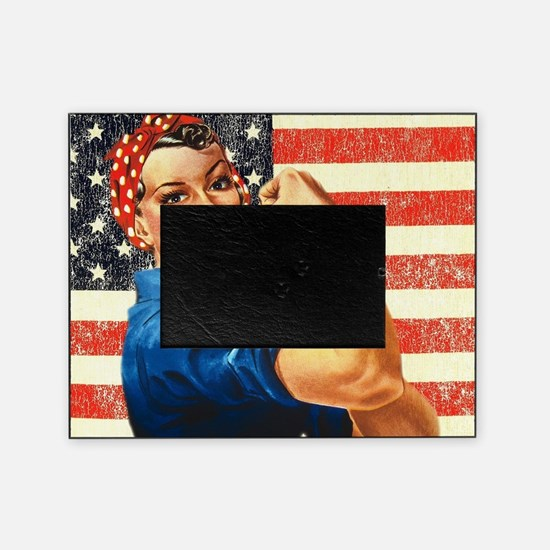 Rosie the Riveter Picture Frame