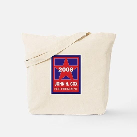 John H Cox for President (sta Tote Bag