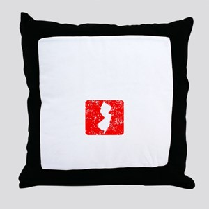 Seaside 1913 - dk Throw Pillow