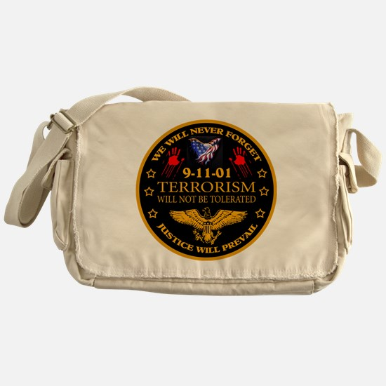 Justice Will Prevail Messenger Bag