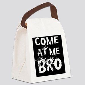 Bro Btn Canvas Lunch Bag