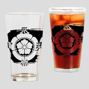 NobunagaKamon Drinking Glass