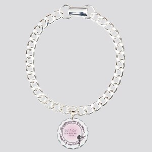 dance is the only art t- Charm Bracelet, One Charm