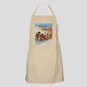 Vintage Christmas The Night Before Christmas Apron