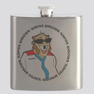 deuce brown logo Flask