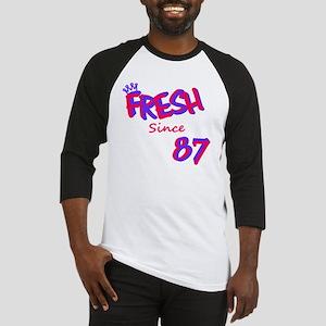 fresh87 Pink/Purple Baseball Jersey
