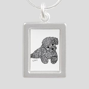 Poodle puppy Necklaces