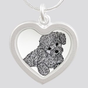 Poodle puppy Necklaces