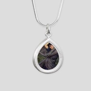 Boreas Silver Teardrop Necklace