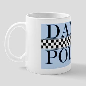 dance police blue poster 3 copy Mug