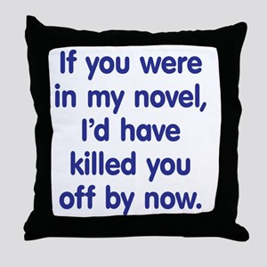 mynovel1 Throw Pillow