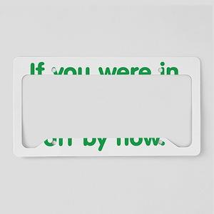 mynovel_btle2 License Plate Holder