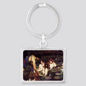 Hylas and the Nymphs Landscape Keychain