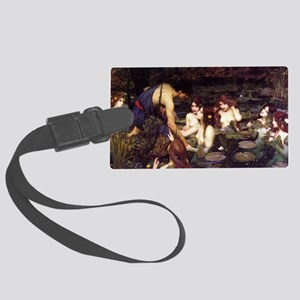 Hylas and the Nymphs Large Luggage Tag