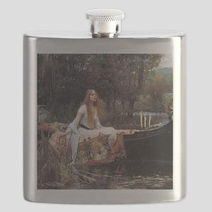 Lady of Shalott Flask
