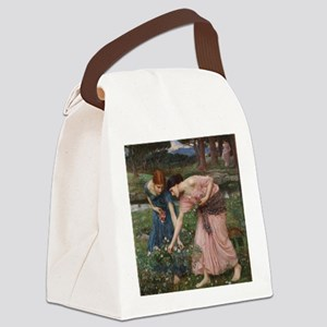 Gather Ye Rosebuds While Ye May Canvas Lunch Bag