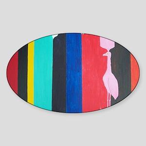 MorrisLouisFLvacation Sticker (Oval)