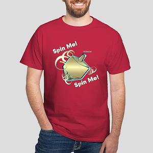 Spin Me Hanukkah Dark T-Shirt