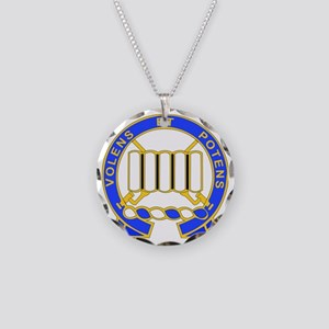DUI-7TH IN RGT Necklace Circle Charm