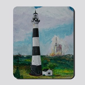 Two Beacons - Cape Canaveral Light Mousepad