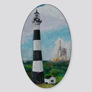 Two Beacons - Cape Canaveral Light Sticker (Oval)