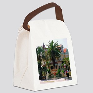 4.5x5.75at300SouthHouse Canvas Lunch Bag
