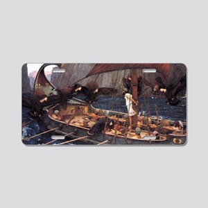 Ulysses and the Sirens Aluminum License Plate