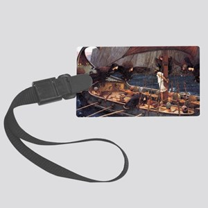 Ulysses and the Sirens Large Luggage Tag