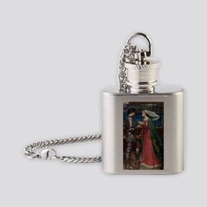Tristan and Isolde Flask Necklace