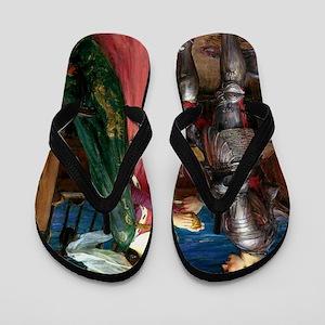 Tristan and Isolde Flip Flops