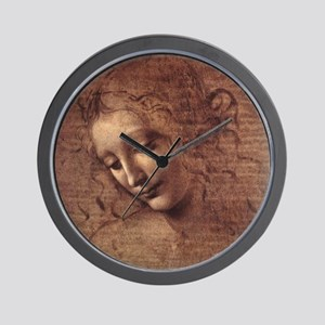 Female Head Wall Clock
