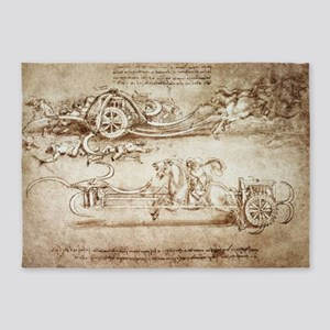 Assault Chariot with Scythes 5'x7'Area Rug