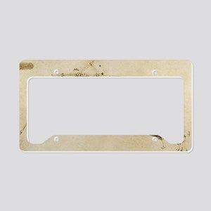 Flying Machine License Plate Holder