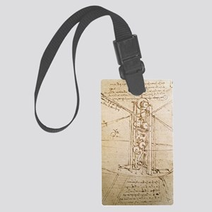 Design for Flying Machine Large Luggage Tag