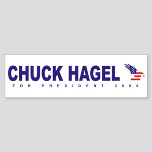 Chuck Hagel for president Bumper Sticker