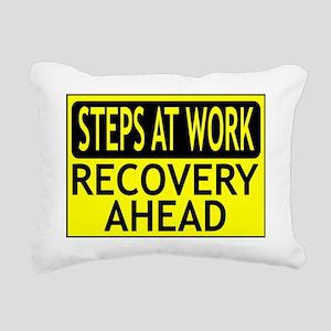 Steps at Work2 Rectangular Canvas Pillow