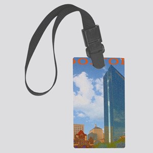 Copley 1_note cards Large Luggage Tag